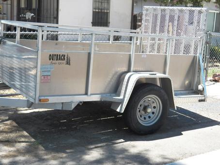 Enclosed Cargo Trailer Repair