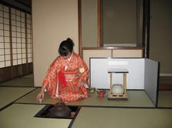 久美子卒業式、茶会 025