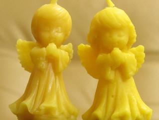 守護天使キャンドル👼
