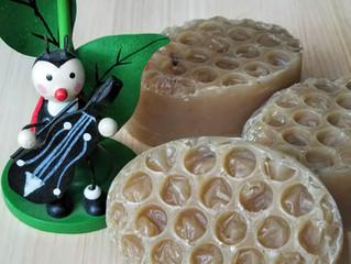 ハチミツ、プロポリス、ミツロウ石鹸