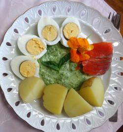 Frankfurter gruene Sosse