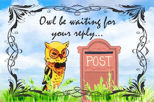 Owl be waiting...