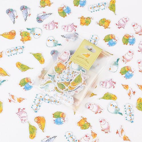 Pretty Bird Stickers