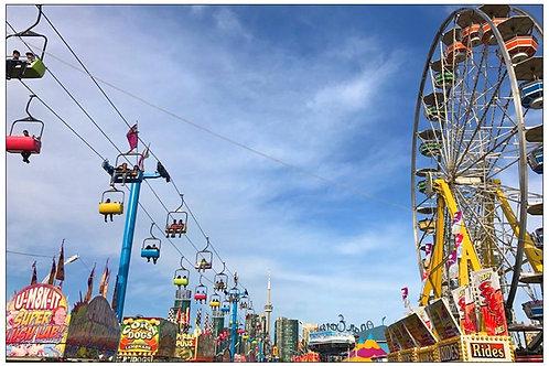 Ferris Wheel Fun by Diana De Benedictis