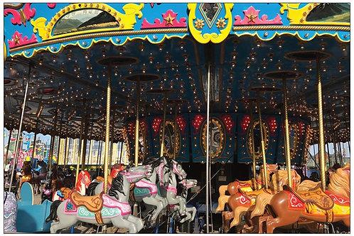 Classic Carousel by Diana De Benedictis