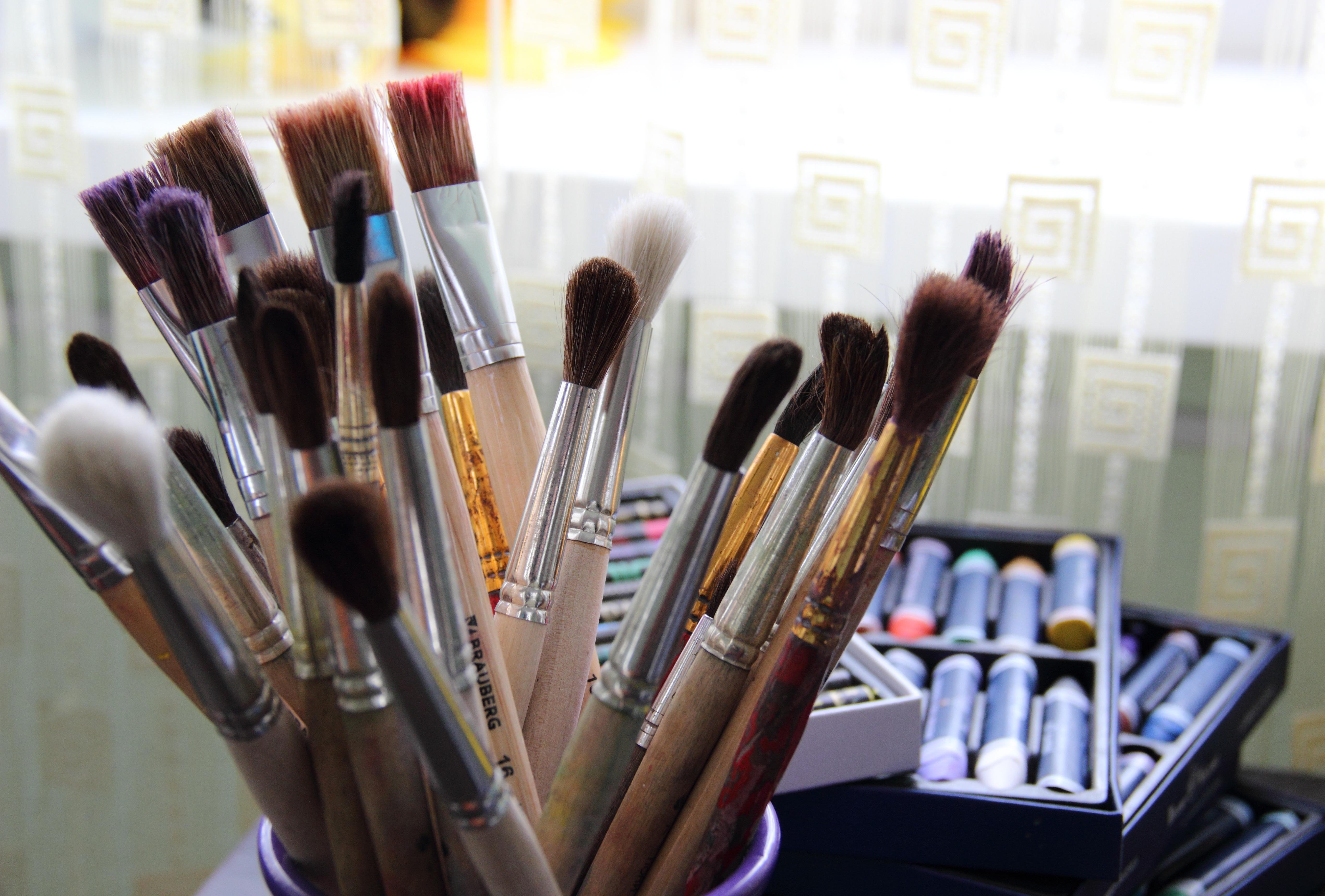 Художественные инструменты, пастель