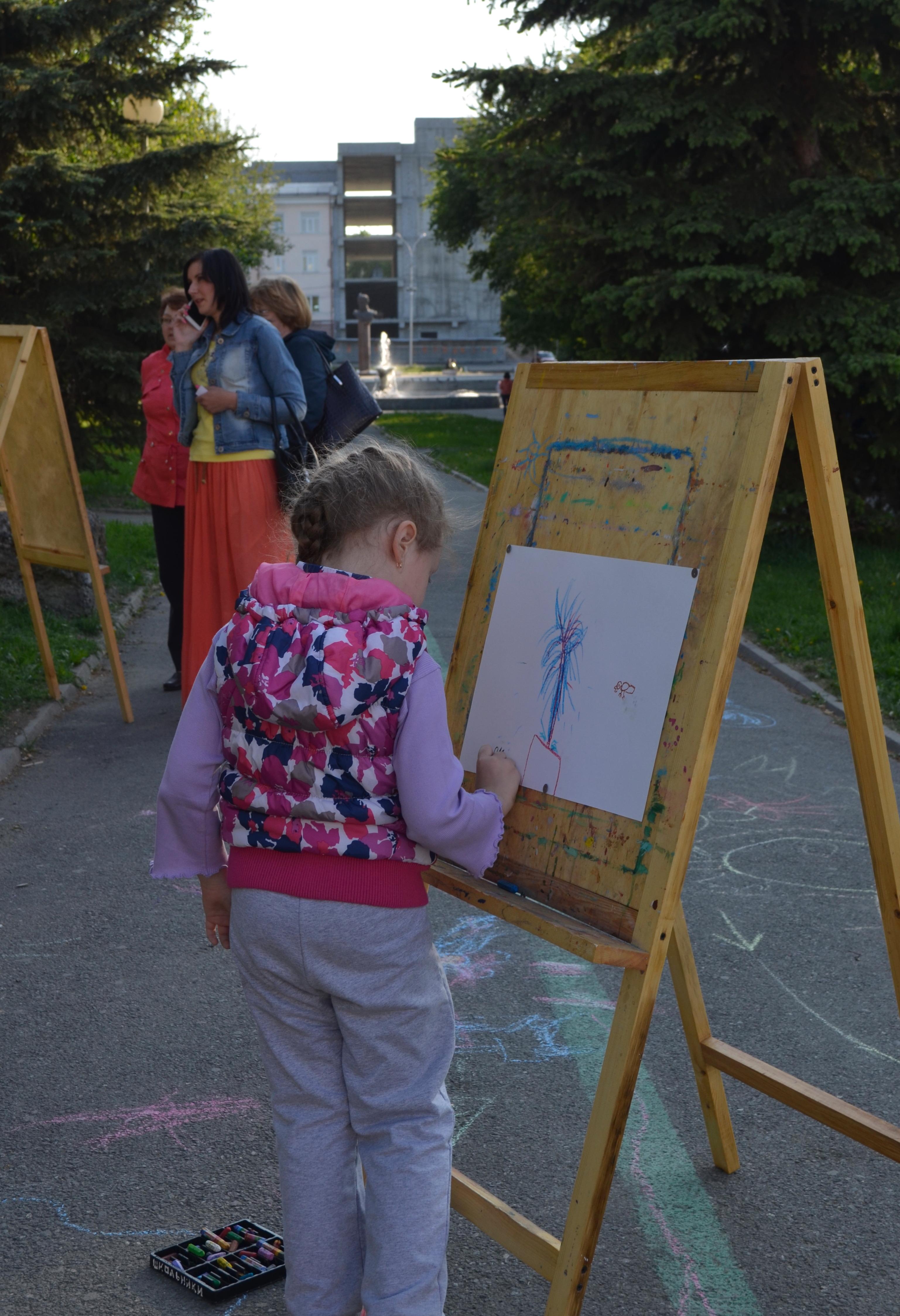 Рисуем фонтан