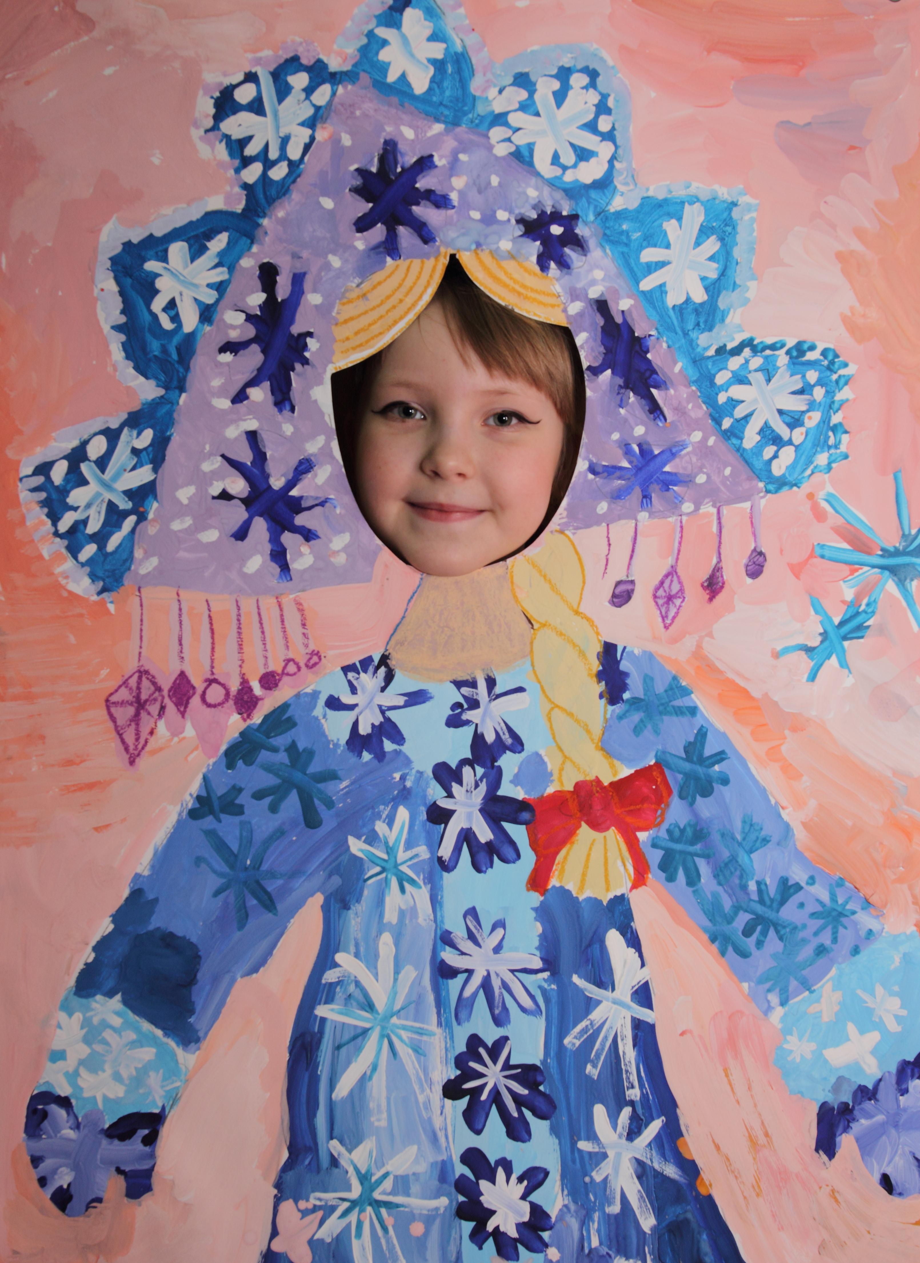 Портрет Снегурочки