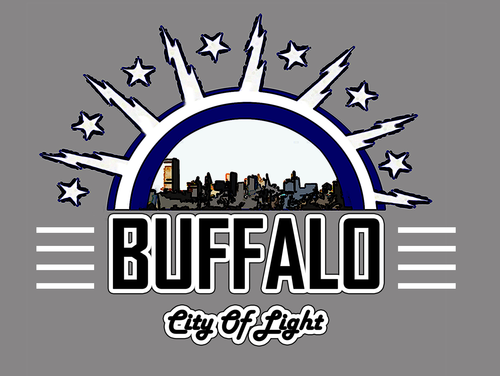 BFLO city of light design