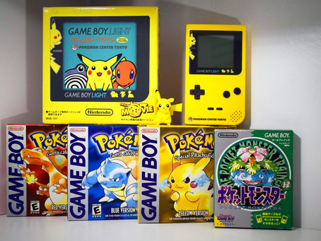Exclusive Pokémon  Game Boy Light