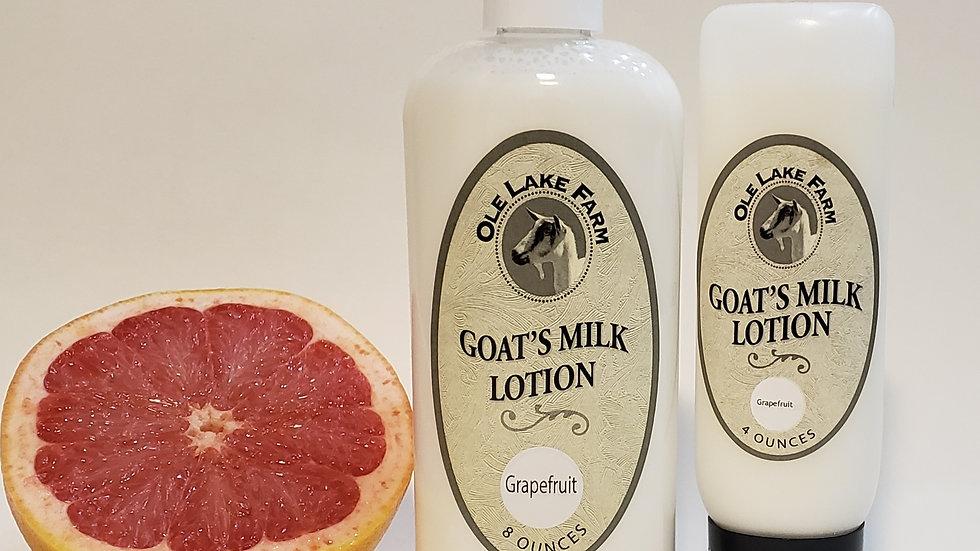 Grapefruit Goat's Milk Lotion