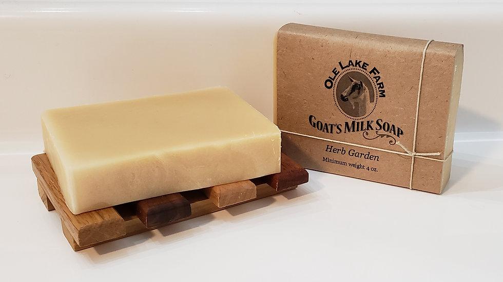Herb Garden Goat's Milk Soap