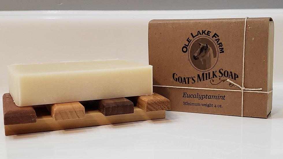 Eucalyptamint Goat's Milk Soap