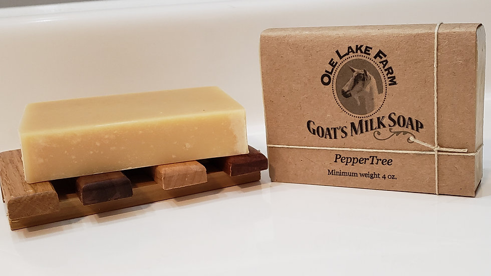PepperTree Goat's Milk Soap