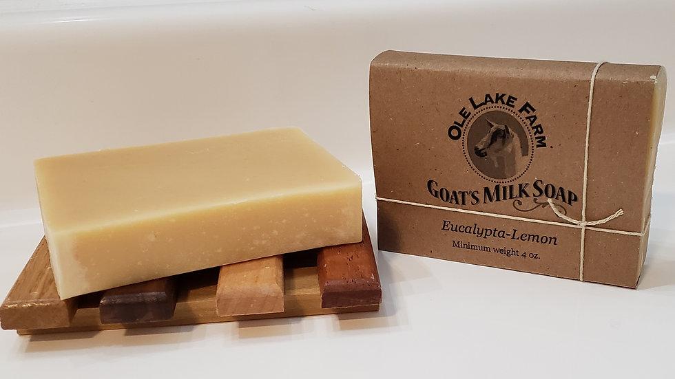 Eucalypta-Lemon Goat's Milk Soap