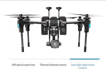 Low-light night-vision camera