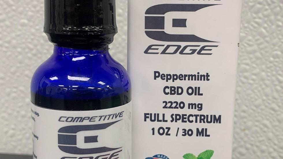 Peppermint 2220 MG CBD 1oz Bottle