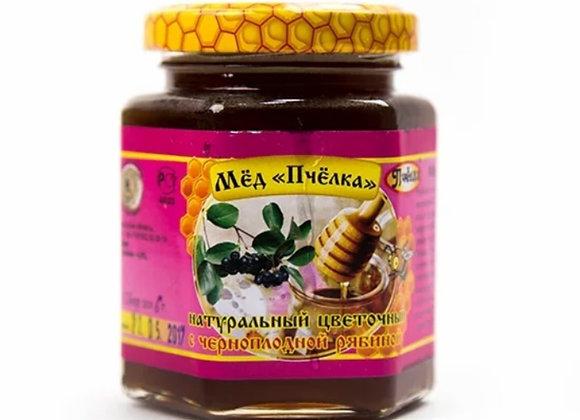 Мёд с черноплодной рябиной