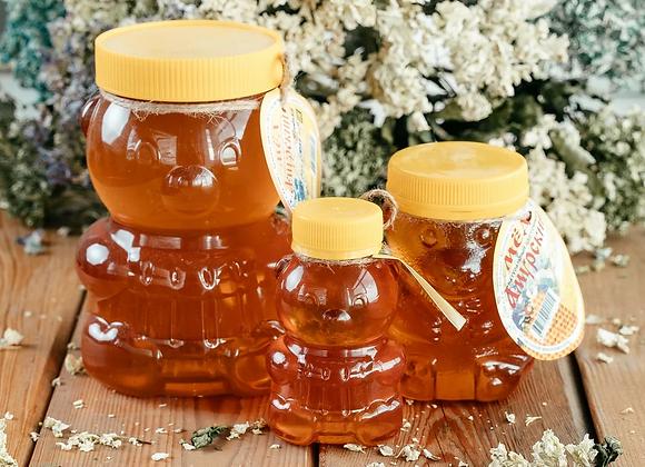 """Мёд цветочный """"Мишка"""""""
