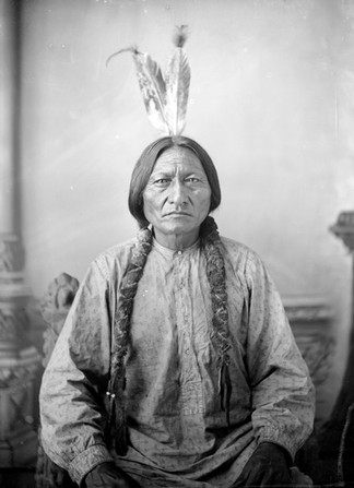 Sitting Bull par D.F. Barry. ca 1883 Dakota