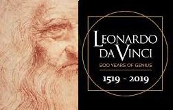 500e anniversaire de la mort de Léonard de Vinci