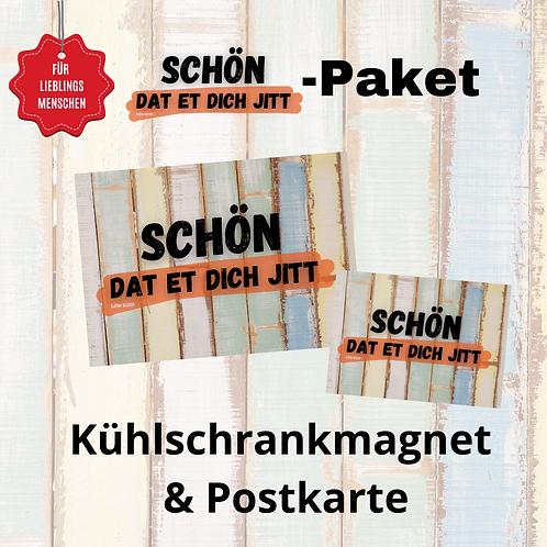 """""""Schön dat et dich jitt""""-Paket"""