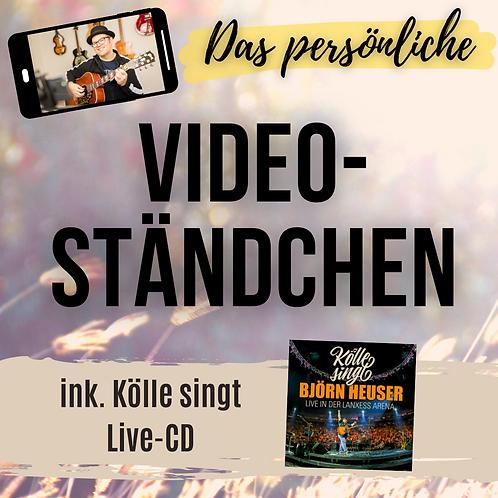 Video-Ständchen inkl. Kölle singt-Live-CD