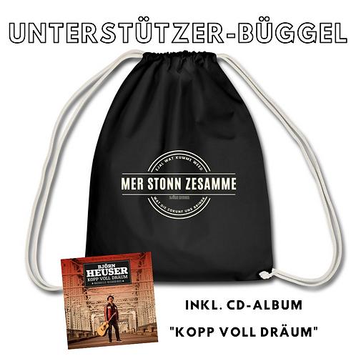 HEUSER-Büggel inkl. Kopp voll Dräum-Album