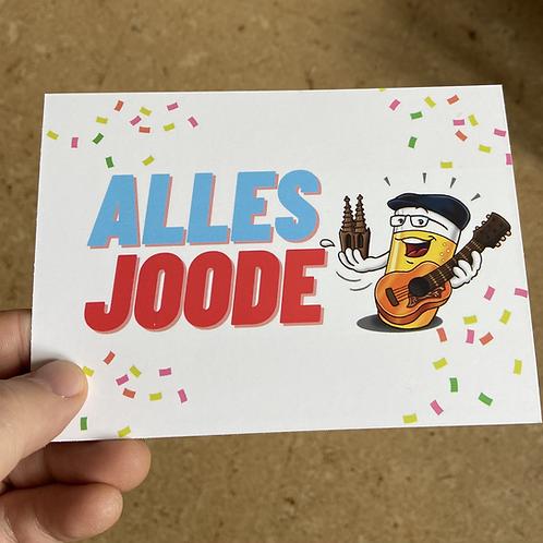 Alles Joode-Postkarte