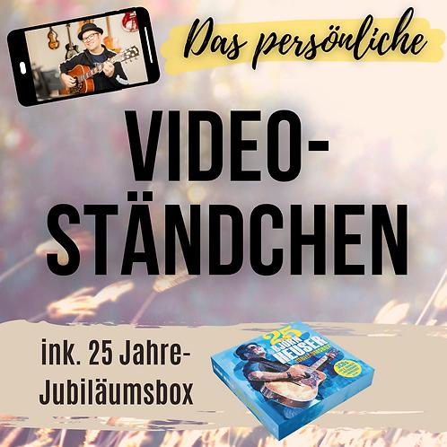 Video-Ständchen inkl. Jubiläumsbox