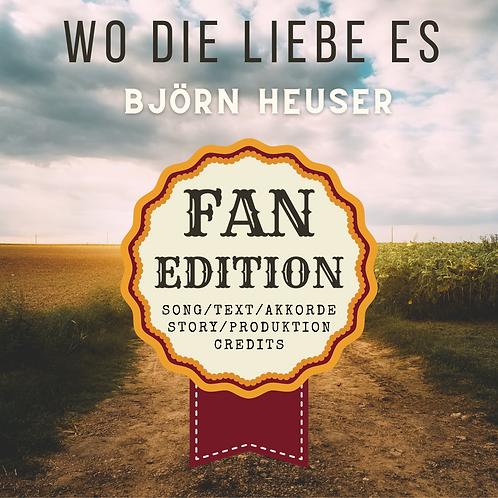 Wo die Liebe es - FAN-Edition