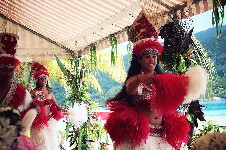 tahitian danse