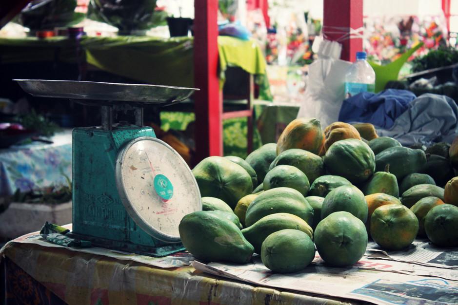 marché de Tahiti - Papeete market - Tahiti