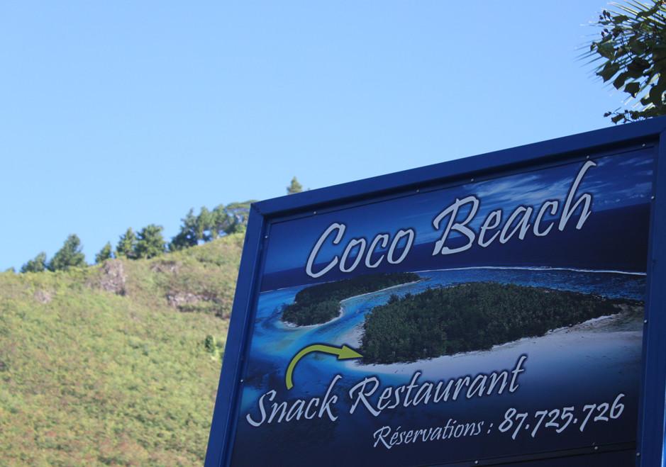 Moorea - Coco Beach