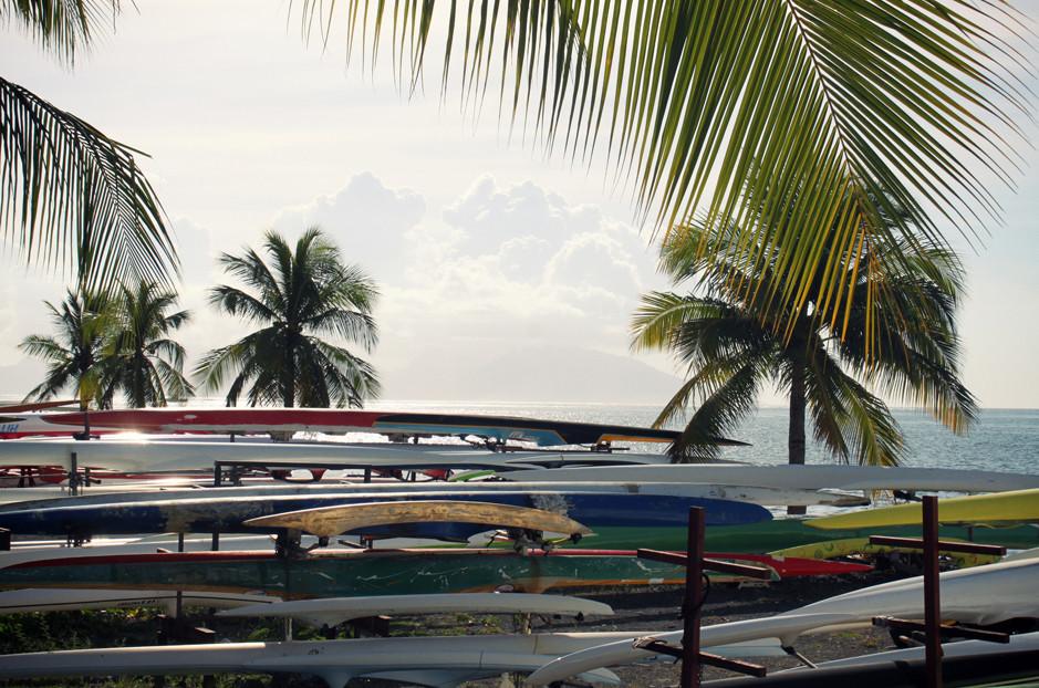 Vaa'a - front de mer - Papeete