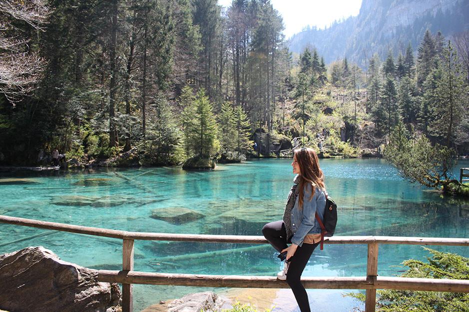 Blausee, le lac bleu