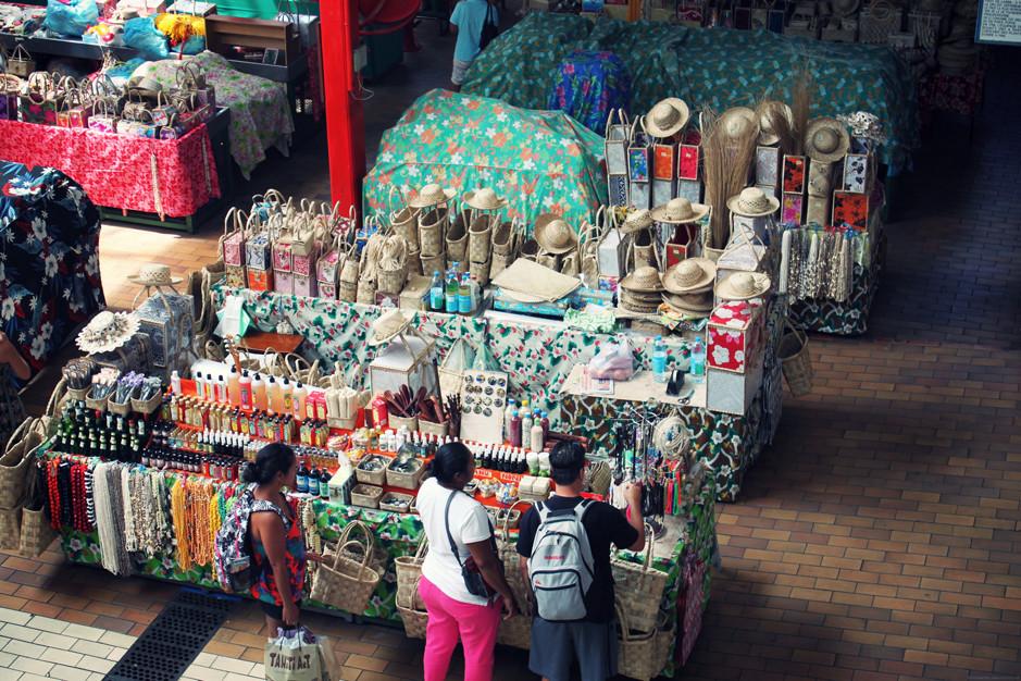 marché de Papeete - Papeete market - Tahiti