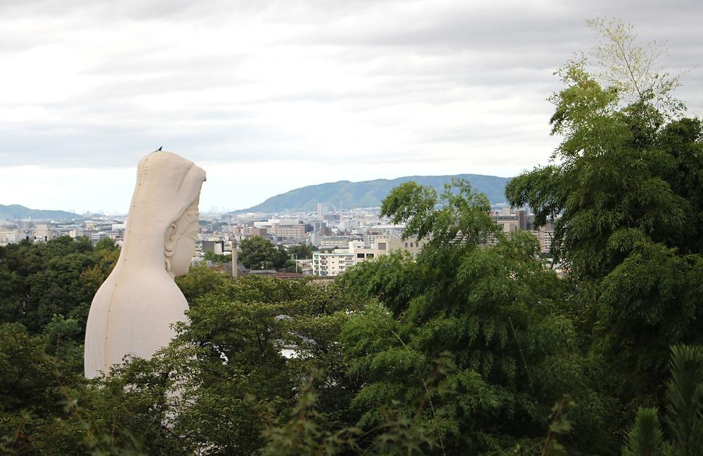 Ryozen Kannon depuis Kodai-ji