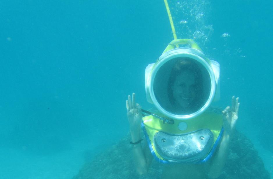 Moorea - Aquablue - helmet dive