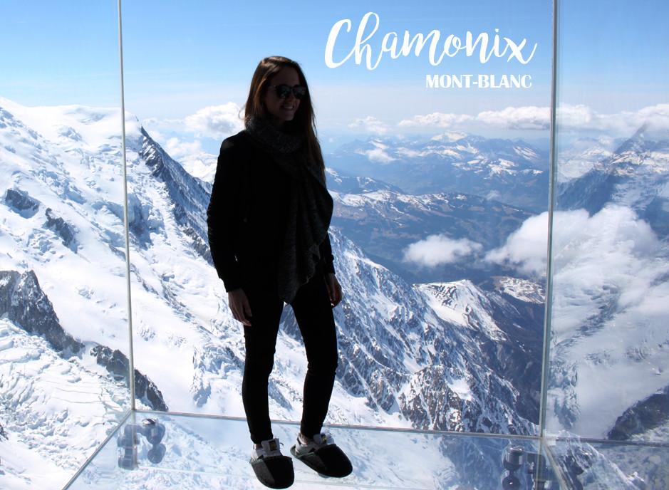 Le pas dans le vide - Chamonix