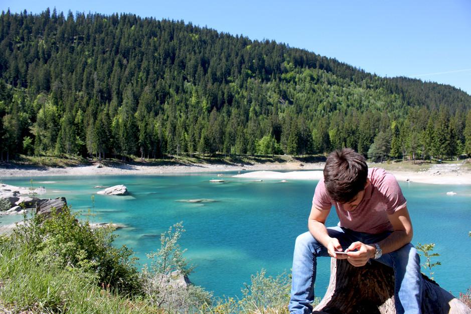 Caumasee, lac de Cauma, Suisse