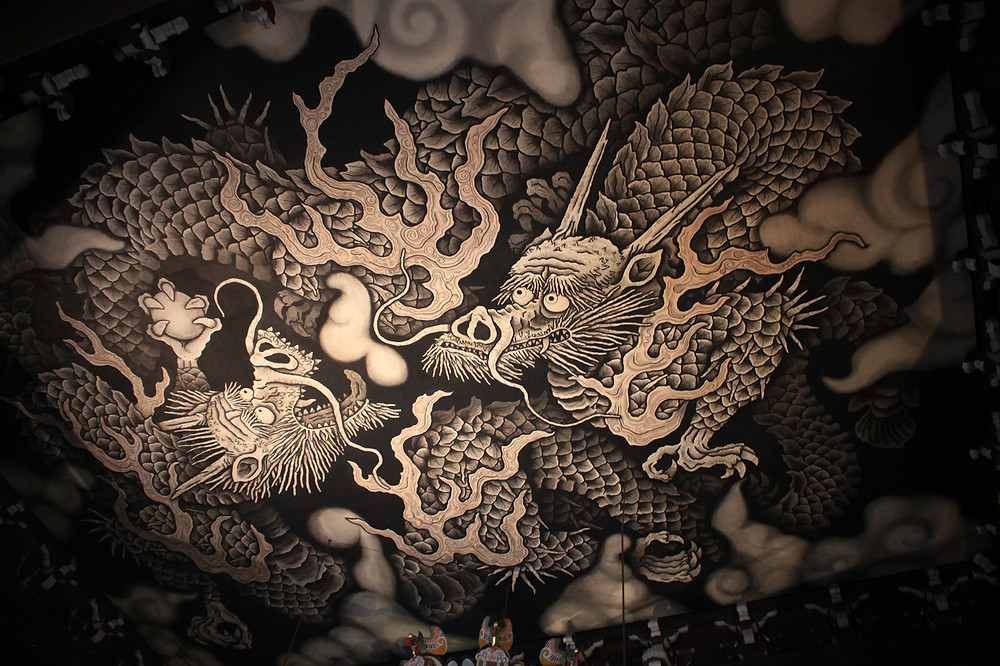 plafond dragons - Kennin-ji