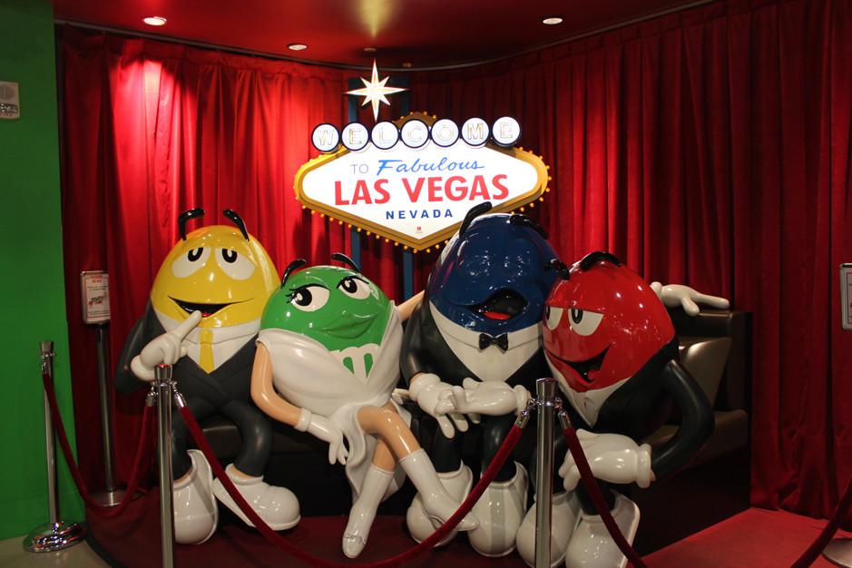 M&M's store - Las Vegas