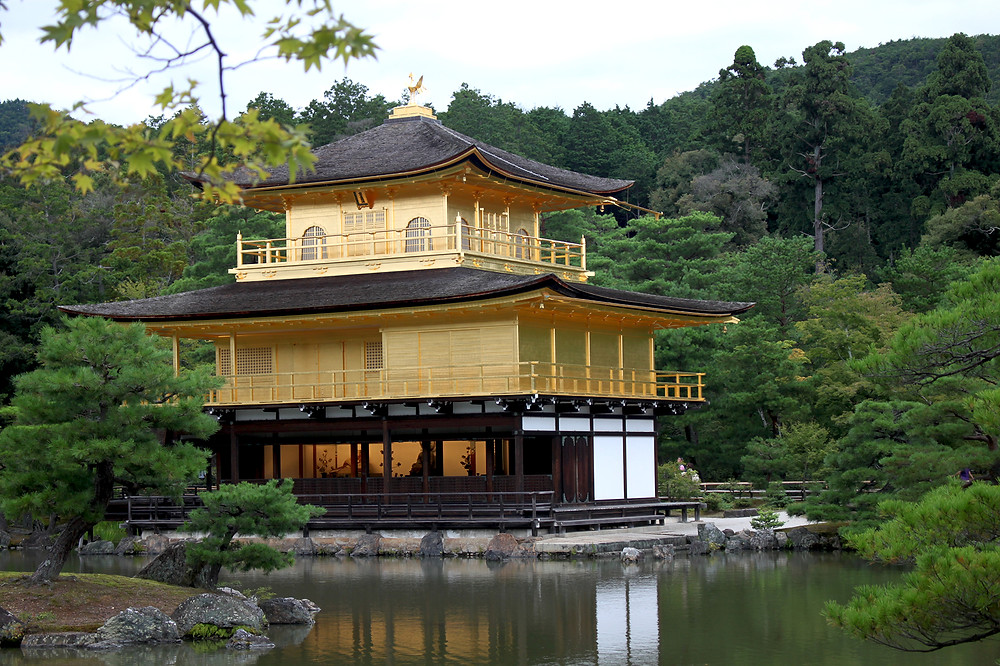 Kinkaku-ji - pavillon d'or