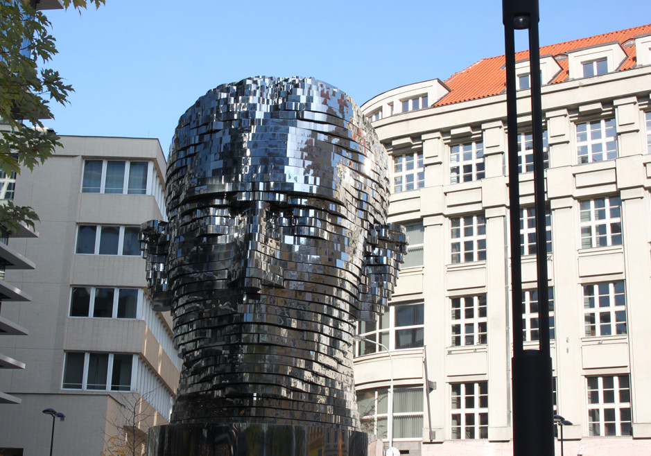 Kafka head - Prague