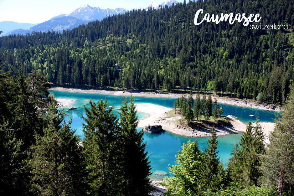 Caumasee, switzerland