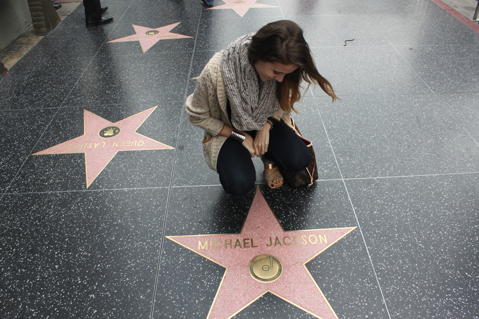 Hollywood boulevard - Michael Jackson