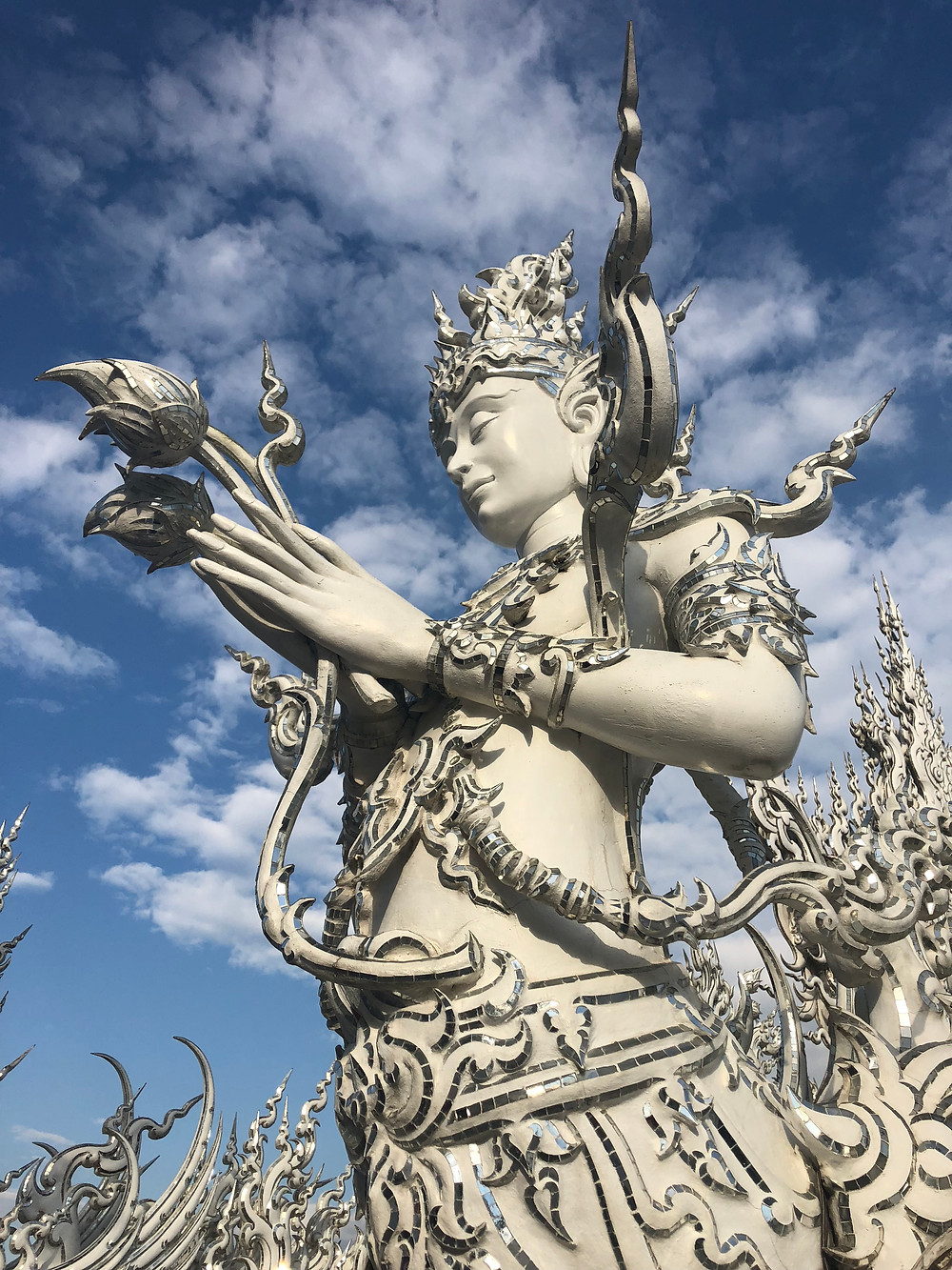 The White Temple, Chiang Rai, Thailand