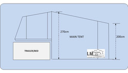 3tent height