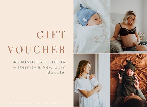GIFT VOUCHER: Maternity + New Born Bundle